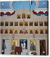 Saint Nicholas Erikousa 1822 Acrylic Print