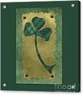 Saint Patricks Day Collage Number 21 Acrylic Print