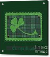 Saint Patricks Day Collage Number 28 Acrylic Print