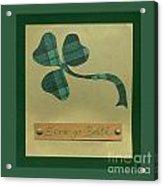 Saint Patricks Day Collage Number 3 Acrylic Print