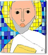 Saint Paul Acrylic Print by Anita Dale Livaditis