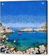 Saint Paul Bay Acrylic Print