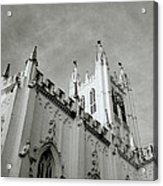 Saint Paul Cathedral In Cathedral Acrylic Print