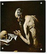 Saint Paul The Hermit Acrylic Print