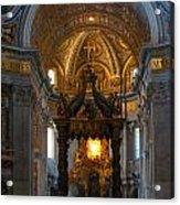 Saint Peter's Basilica Acrylic Print