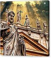 Saint Pietro Acrylic Print