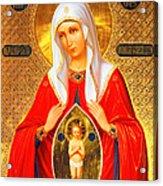 Saint Pomozhenie Acrylic Print