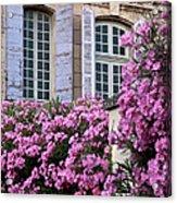 Saint Remy Windows Acrylic Print