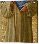 Saint Romuald Acrylic Print by Fra Angelico