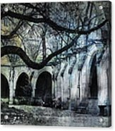 Saint Severin Parish Paris France Acrylic Print