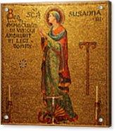Saint Susanna Altar Acrylic Print