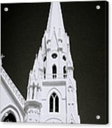 The Surreal Spire Acrylic Print