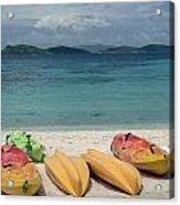 Saint Thomas Beaches Acrylic Print
