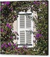 Saint Tropez Window Acrylic Print