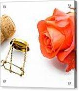 Saint Valentine Rose Acrylic Print