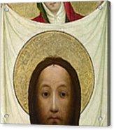 Saint Veronica With The Sudarium Acrylic Print