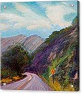 Saint Vrain Canyon Acrylic Print