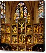 Sainte Croix - Kaysersberg France Acrylic Print