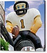 Saints New Orleans Acrylic Print