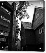 Salem's Witch House Acrylic Print