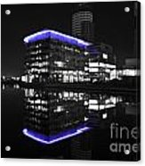 Salford Quay Reflection Acrylic Print