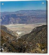 Saline Valley Panorama Acrylic Print