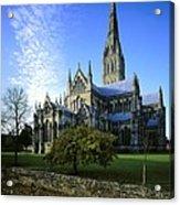 Salisbury Cathedral. 1220-1258. United Acrylic Print