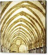 Salisbury Cathedral Cloisters 2 Acrylic Print