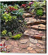 Sally's Garden Acrylic Print by Nancy Harrison