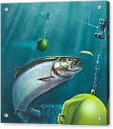 Salmon Dowrigger Acrylic Print