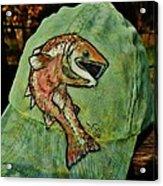 Salmon Fishing By V Lee Acrylic Print