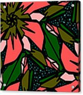 Salmon-pink Acrylic Print