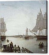 Salmon, Robert 1775-1845. Boston Acrylic Print