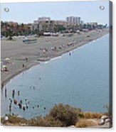 Salobrena Beach Acrylic Print