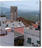 Salobrena Rooftops Acrylic Print