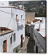 Salobrena Street - Spain Acrylic Print