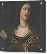 Salome With The Head Of St John The Baptist Acrylic Print