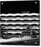 Salou Empty Apartment Properties On The Costa Dorada Catalonia Spain Acrylic Print