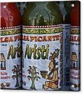Salsa Picante Playa Del Carmen Mexico Acrylic Print