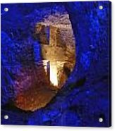 Salt Cathedral- Colombia Acrylic Print