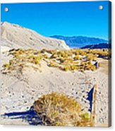Salt Creek Boardwalk Trail In Death Valley National Park-california  Acrylic Print
