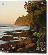 Salt Creek Shore Line Acrylic Print