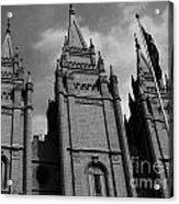 Salt Lake City Lds Temple 3 Acrylic Print