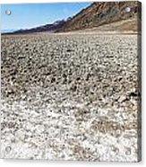 Salt Pan Sands Acrylic Print