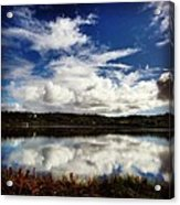 Salt Pond Mirror  Acrylic Print