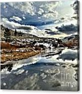 Salt River Pass Acrylic Print