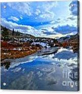 Salt River Reflections Acrylic Print