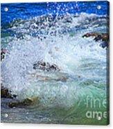Salt Water Serenade Acrylic Print