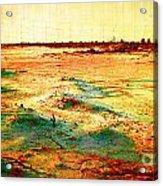 Salted Land Acrylic Print