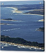 Salter, Stage And Pond Islands At The Acrylic Print